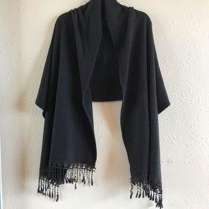 Accessories - Black Shawl